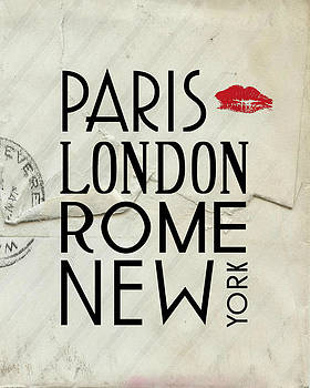 Jaime Friedman - Paris London Rome and New York