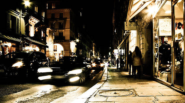 Paris Night Movements by Calvin Hanson