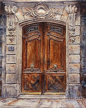 Parisian Door No. 37 by Joey Agbayani