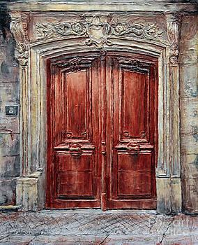 Parisian Door No. 8 by Joey Agbayani