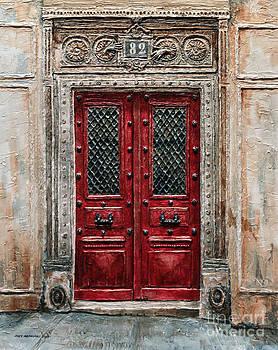 Parisian Door No.82 by Joey Agbayani