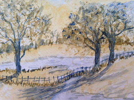 Park Stream by Carol Warner