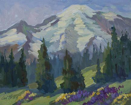 Diane McClary - Park Sunrise at Mount Rainier