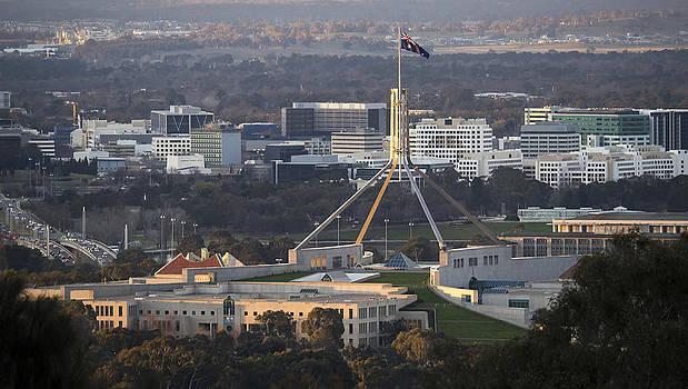 Steven Ralser - Parliament House - Canberra - Australia