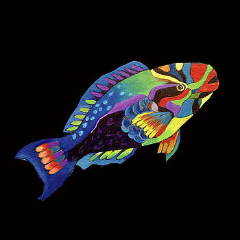 Parrot Fish  by Maggie Ullmann