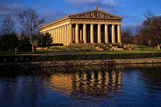 Parthenon at Sunrise by Patrick Collins