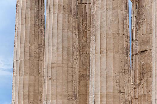 Parthenon columns by Yevgeni Kacnelson