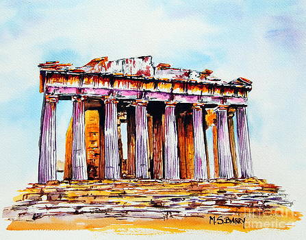 Parthenon by Maria Barry