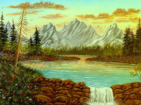 Parting Waters by David Bentley
