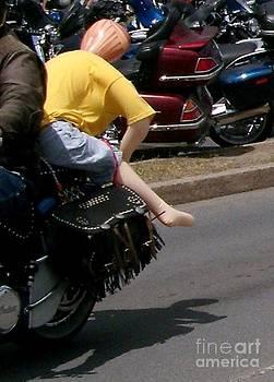Gail Matthews - Passenger on a Motorcycle
