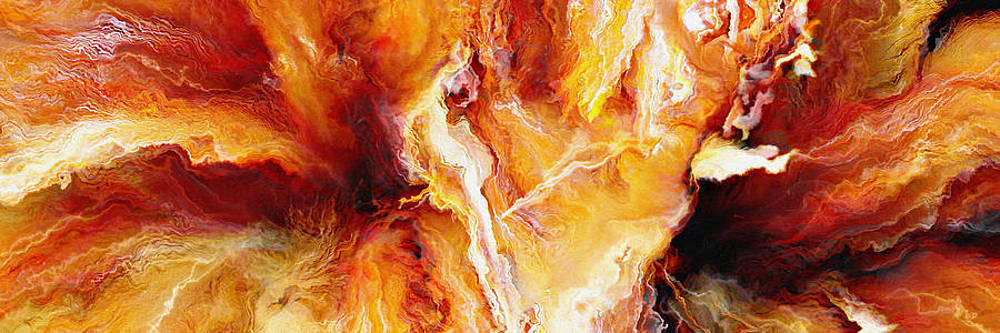 Passion - Abstract Art by Jaison Cianelli