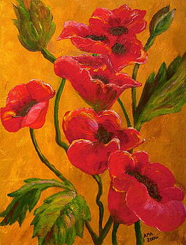 Passion for Poppies by Anne Kibbe