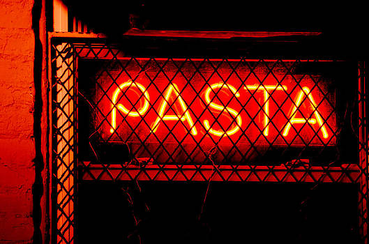 Pasta Sign by La Dolce Vita