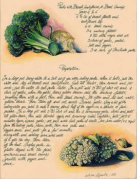 Pasta with Broccoli and Cauliflower by Alessandra Andrisani