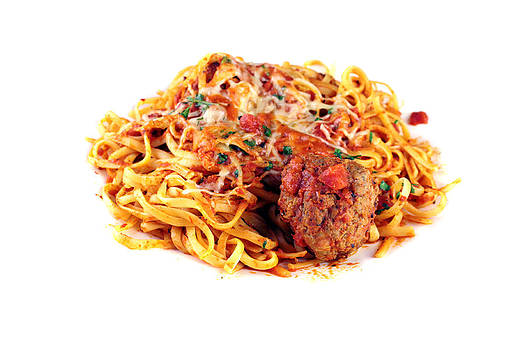 Michael Ledray - Pasta with Meat Balls