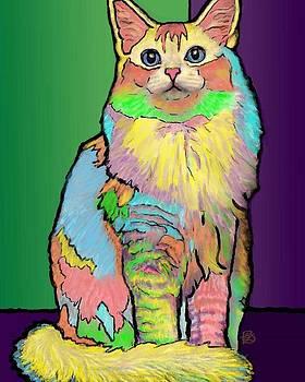 Pastel Puss by Pamela Shelton
