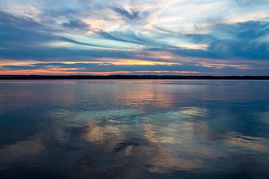 Pastel Reflection by Laurel Butkins