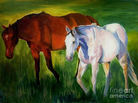 Pasture Stroll by Donna Teleis