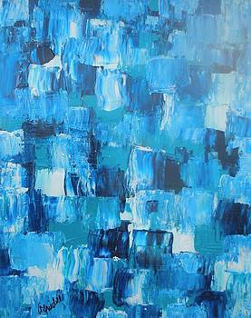 Patches in Blue by Andrea Friedell
