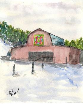 Patchwork Barn by Joe Byrd