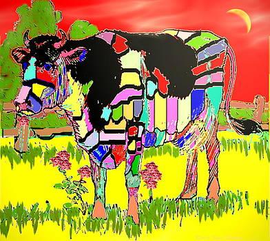 Joyce Dickens - Patchwork Cow