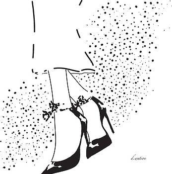 Patent Heels by Darlene Watson