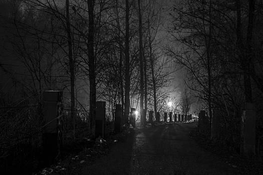 Path Down by Paul Geilfuss