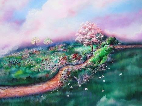 Path To Glory Panel 3 by Kendra Sorum