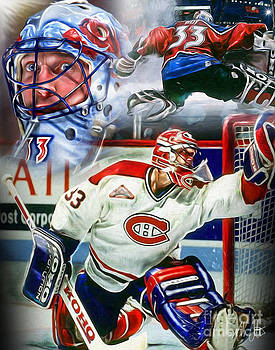 Patrick Roy Collage by Mike Oulton