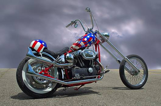 Tim McCullough - Custom Harley Davidson Motorcycle