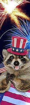Jeanette K - Patriotic Raccoon # 517