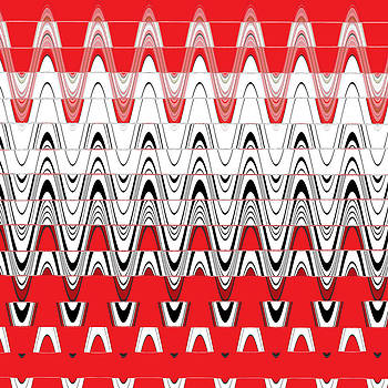 Ricki Mountain - Pattern Mix Red