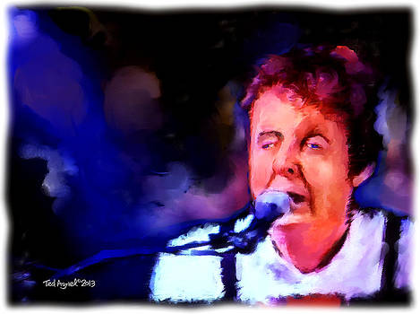 Paul Mccartney by Ted Azriel