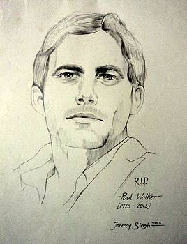 Fast and Furious - Paul Walker by Tanmay Singh