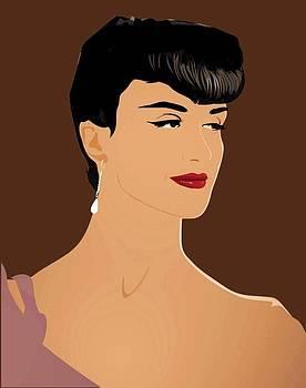Paz Vega Elegant Model 4 by Prentice Morris