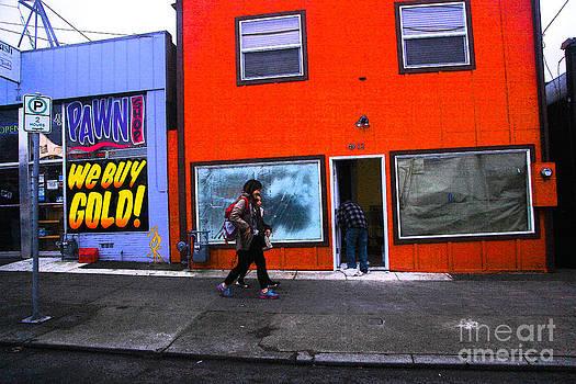 PDX Street  by Carl Warren