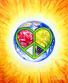 Peace Planet Love by Jennifer Turnbull