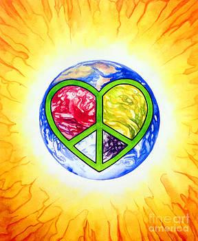 Peace Planet Love by Jennifer Turnbull