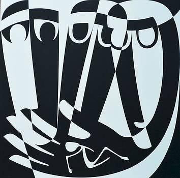 Ron Waddams - Peace Work, 1999 Acrylic On Board