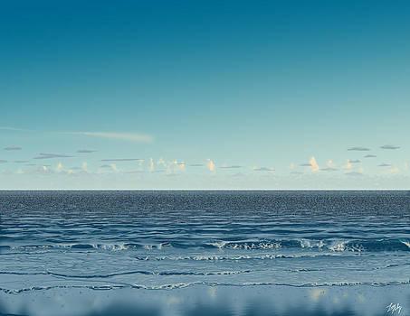 Peaceful Beach by Lee Farley