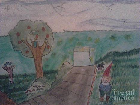 Peaceful garden by Amelia Rodriguez