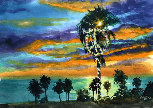 Peaceful Sunset by Ken Meyer jr