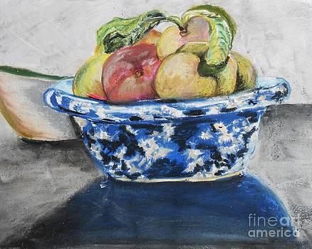 Peach Bowl by Emily Michaud