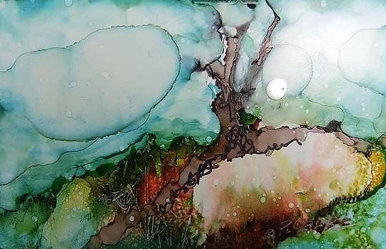 Peach Earth by Donna Pierce-Clark