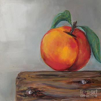 Peach by Kristine Kainer