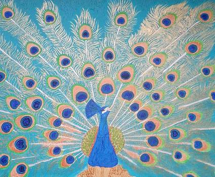 Peacock songs. by Leena Samat Kuchadiya