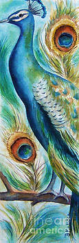 Peacock VI by Betty Pinkston