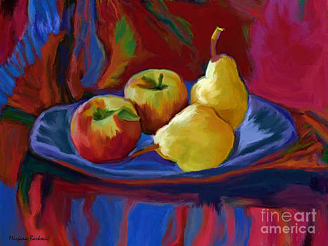 Pears and Apples by Mirjana Barkovic