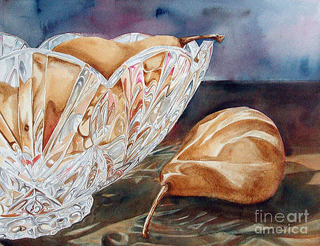 Pears and Crystal by Elizabeth  McRorie