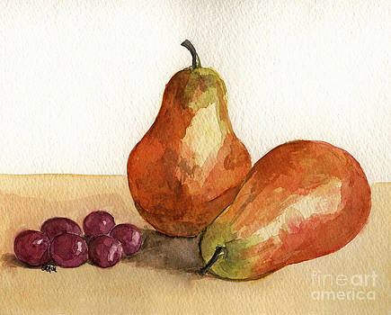 Pears and Grapes by Gracie Hampton